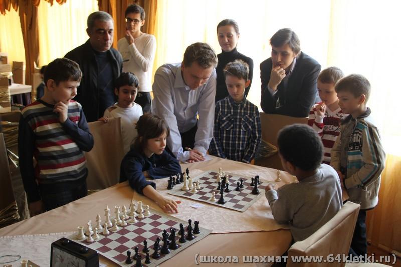 Групповые занятия по шахматам для начинающих