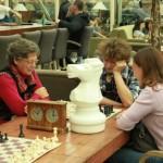 Шахматы увлекают всех.)