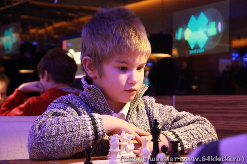 Детский шахматный турнир 20 января в Атриуме.