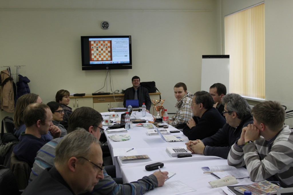 Тренерский семинар в Юрмале