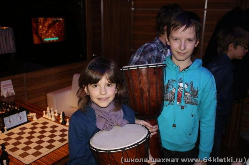 победители зимнего кубка Дима и Эмилия