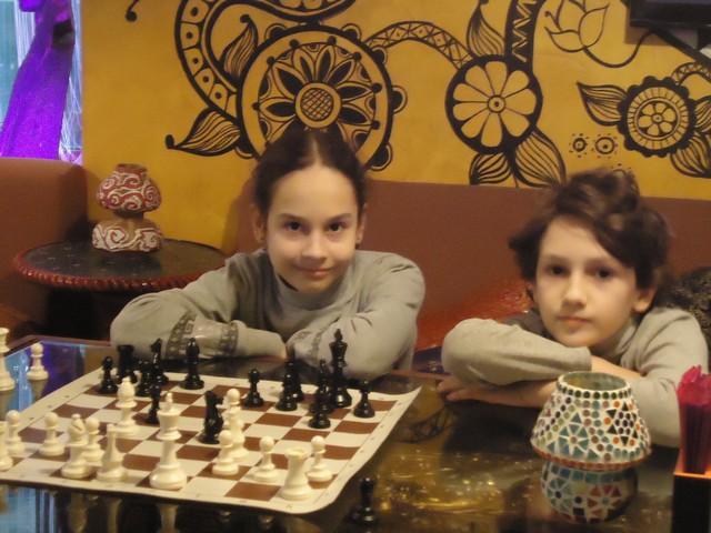 Детский шахматный турнир 5 января