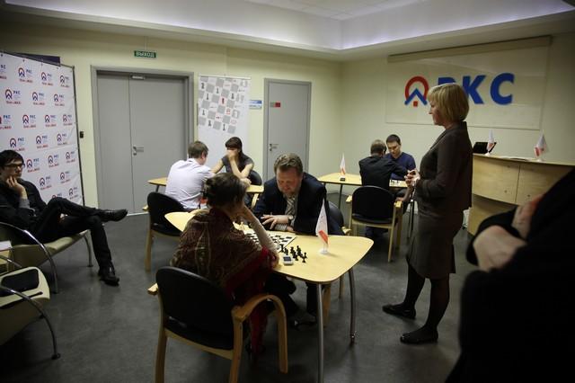 корпоративный шахматный турнир.