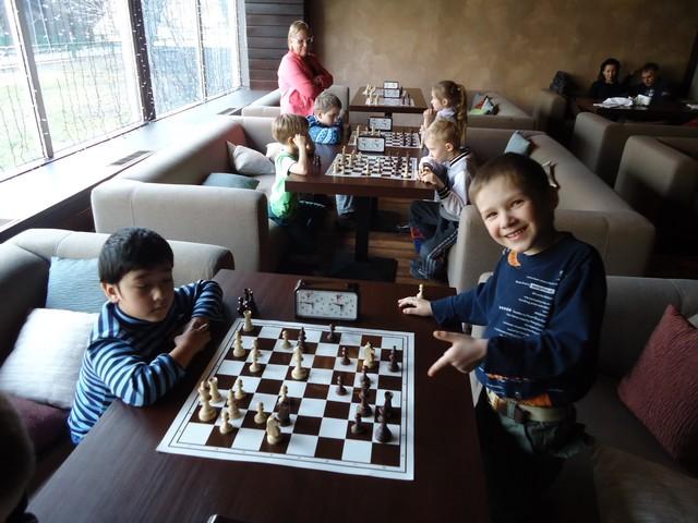 Детский шахматный турнир 30 марта.