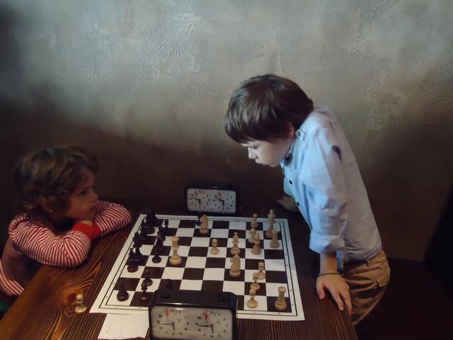 Детский шахматный турнир 27 апреля.