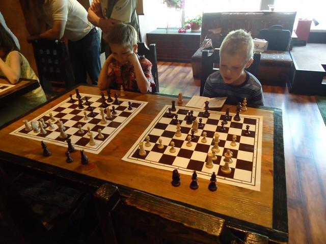 Шахматный турнир 25 мая.