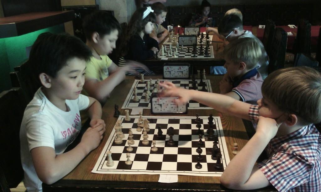 Детский шахматный турнир 8 июня.