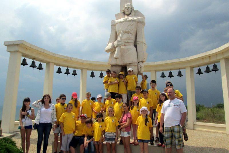 Шахматный лагерь в Золотых Песках