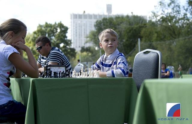 Шахматный турнир на Пресне.