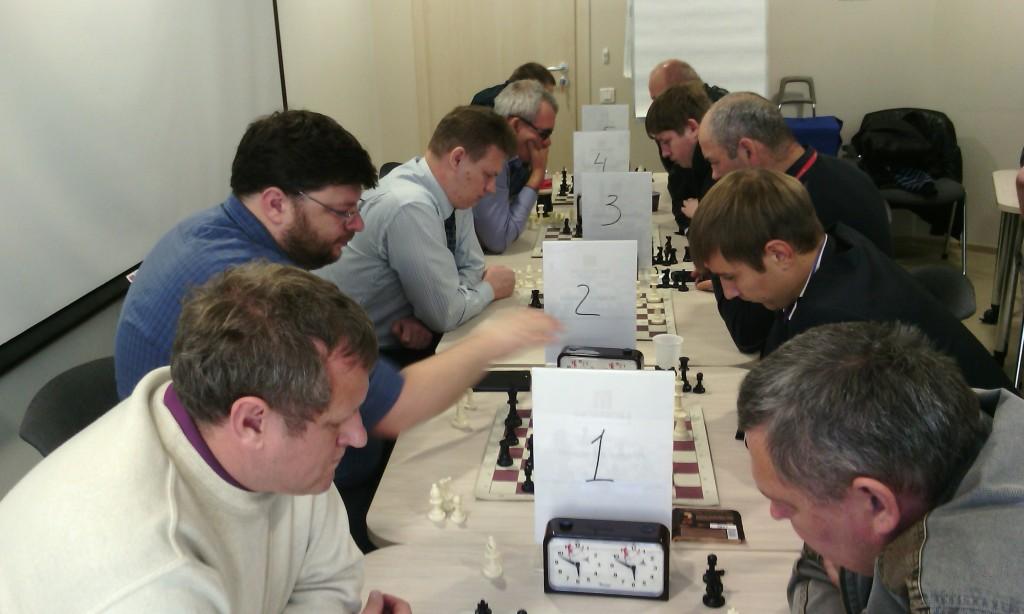 """Корпоративный шахматный турнир для компании """"Мортон""""."""