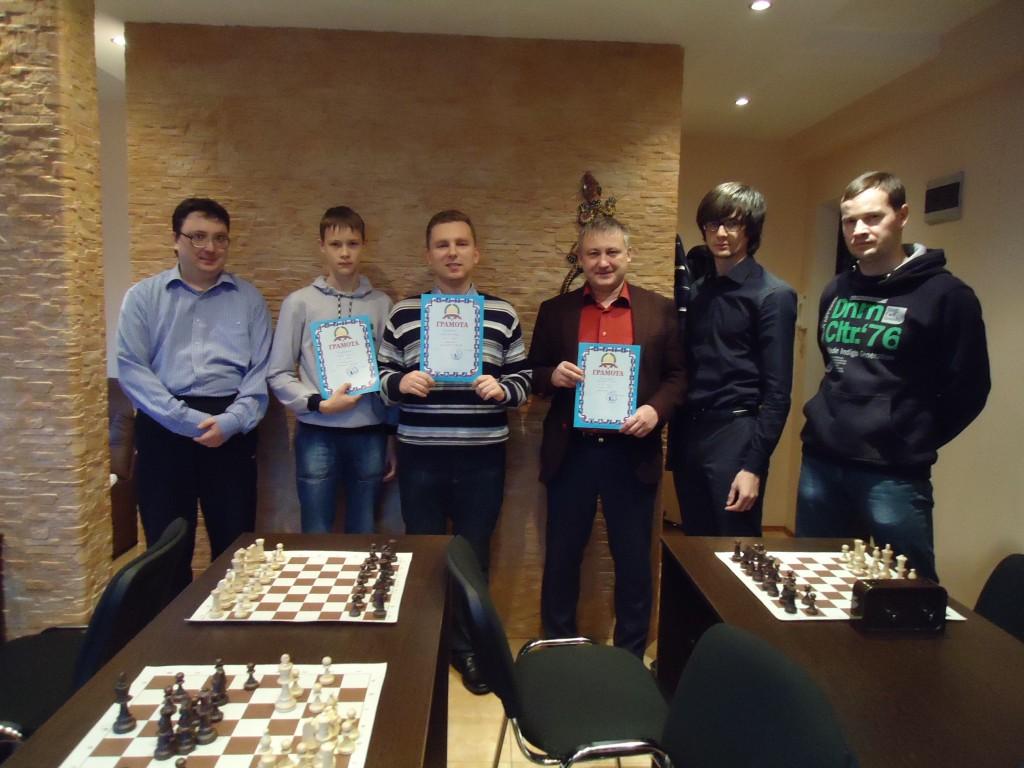 Любительский шахматный турнир.