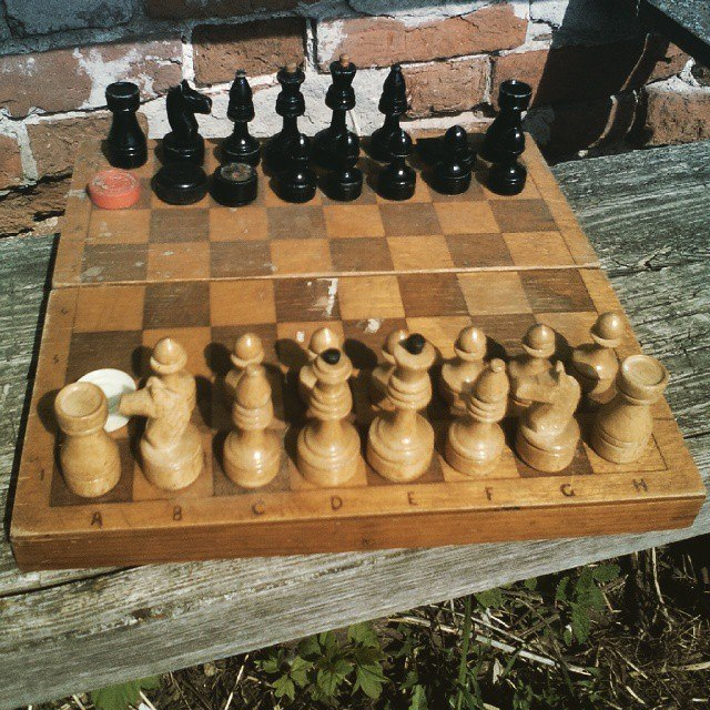 Раритетные шахматы