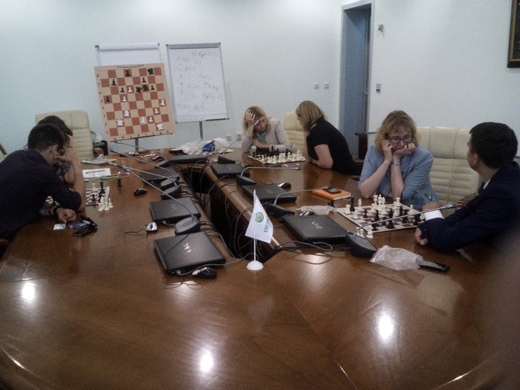 Шахматный клуб в Сбербанке