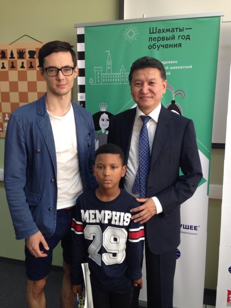 День шахмат в МГУ