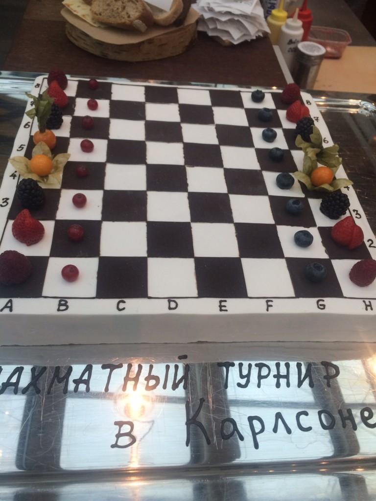 Детский шахматный турнир в Карлсоне