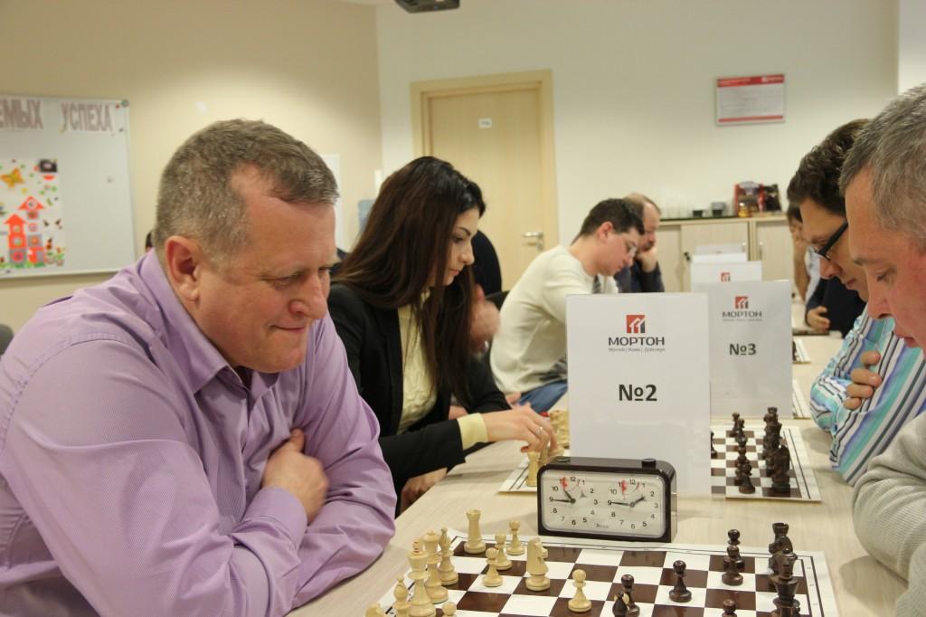 Корпоративный шахматный турнир