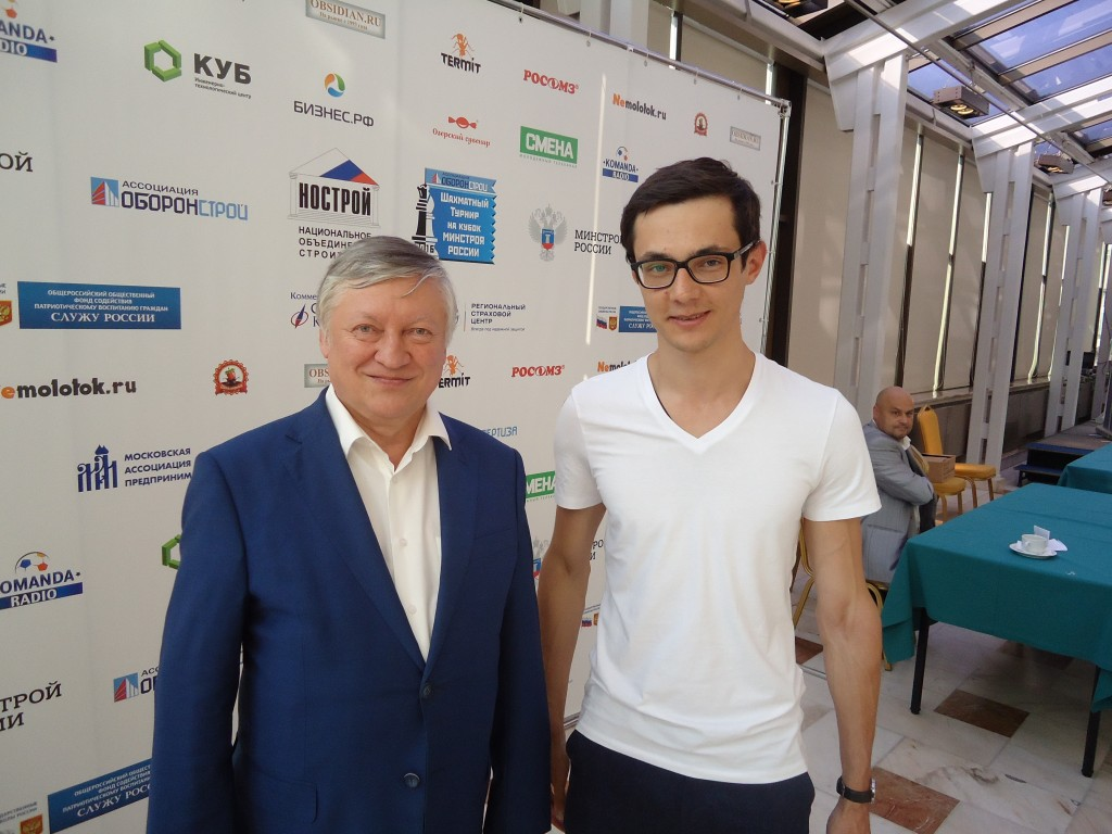 Анатолий Карпов и Дмитрий Луговой