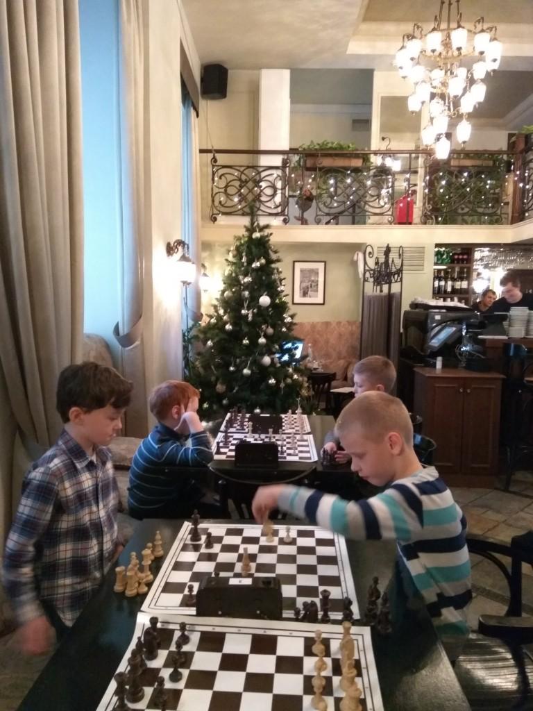 Шахматный турнир в Булошной