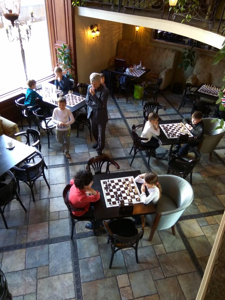 Детский шахматный турнир в Булошной