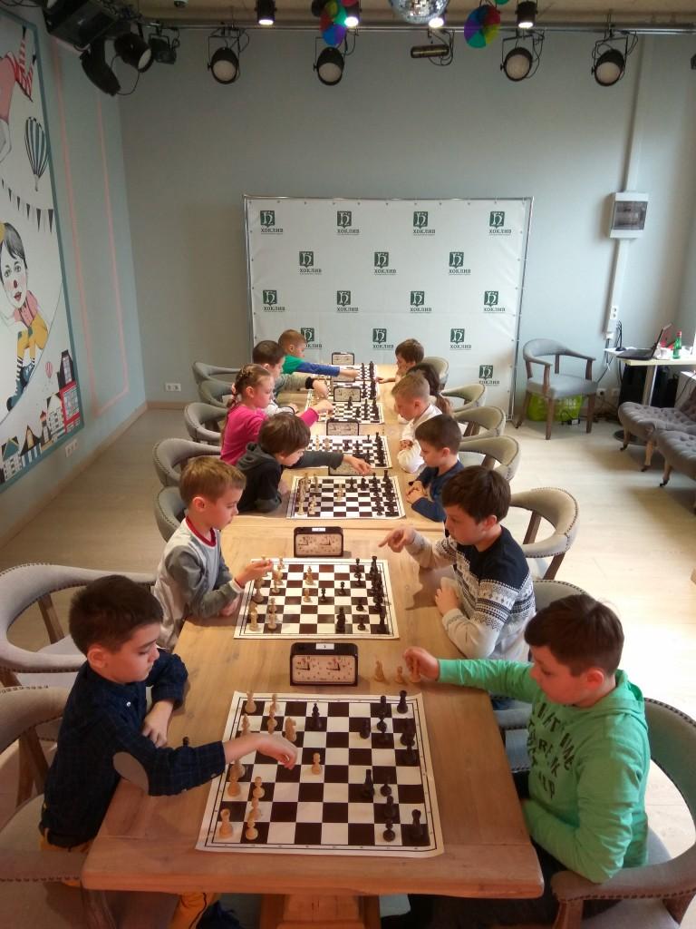 Шахматный турнир 8 апреля