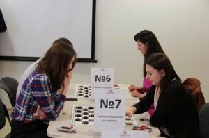 Женские шашки