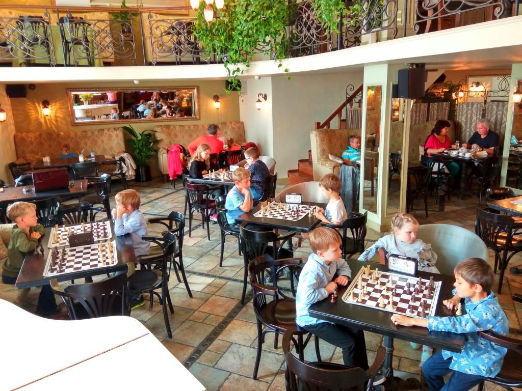 Шахматы в Булошной