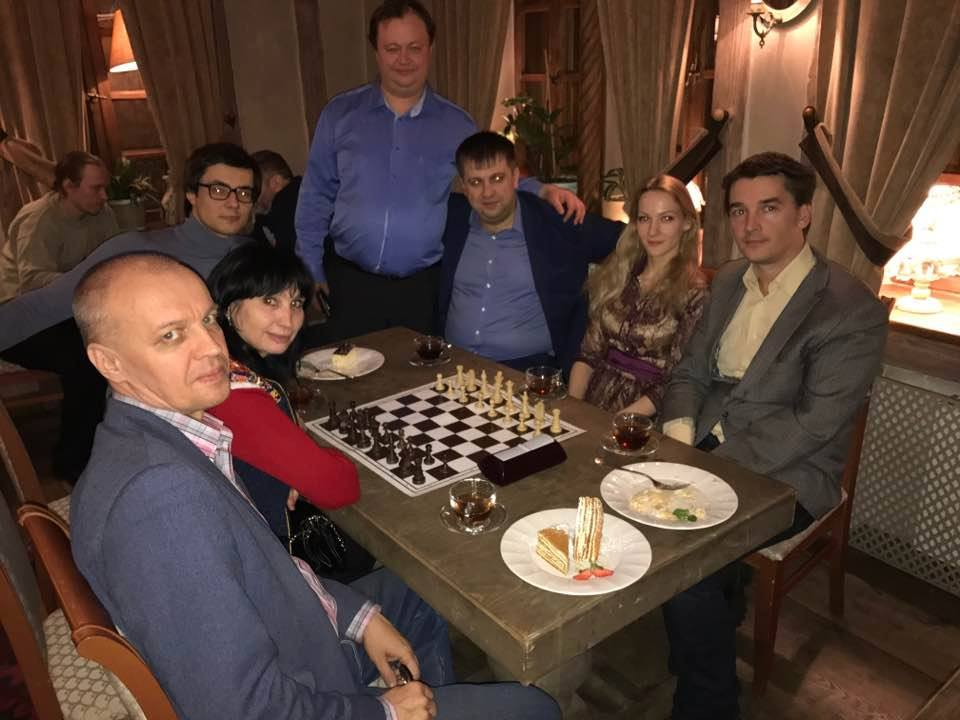 Турнир по парным шахматам.