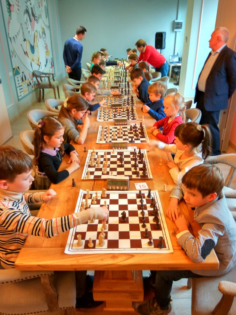 Турнир по шахматам для детей 64 клетки