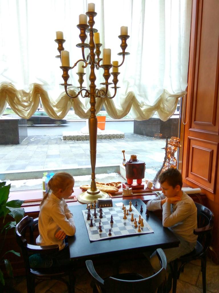 Шахматный турнир в Булошной 25 ноября