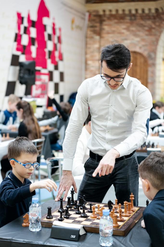 Луговой Дмитрий тренер по шахматам
