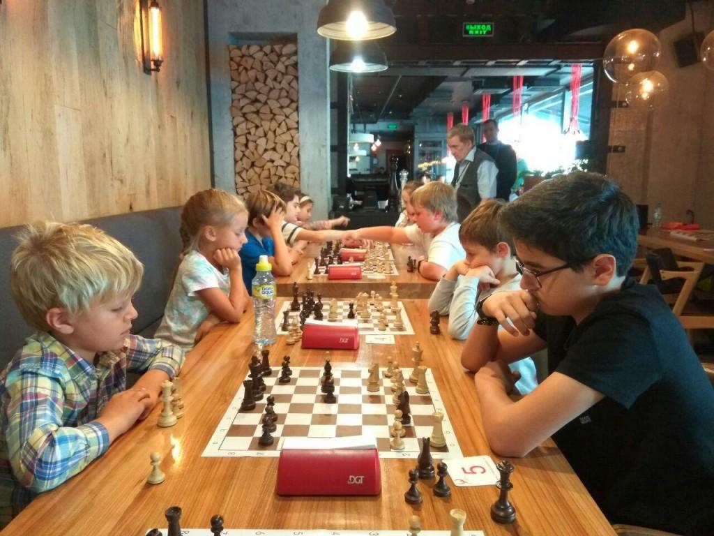 Шахматный турнир 11 августа