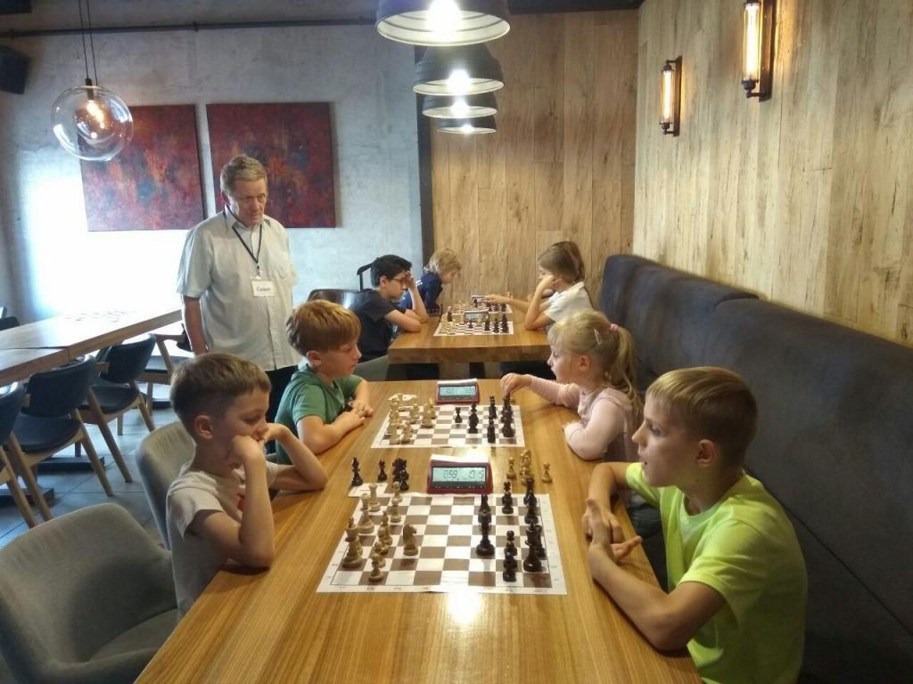 Шахматный турнир 25 августа