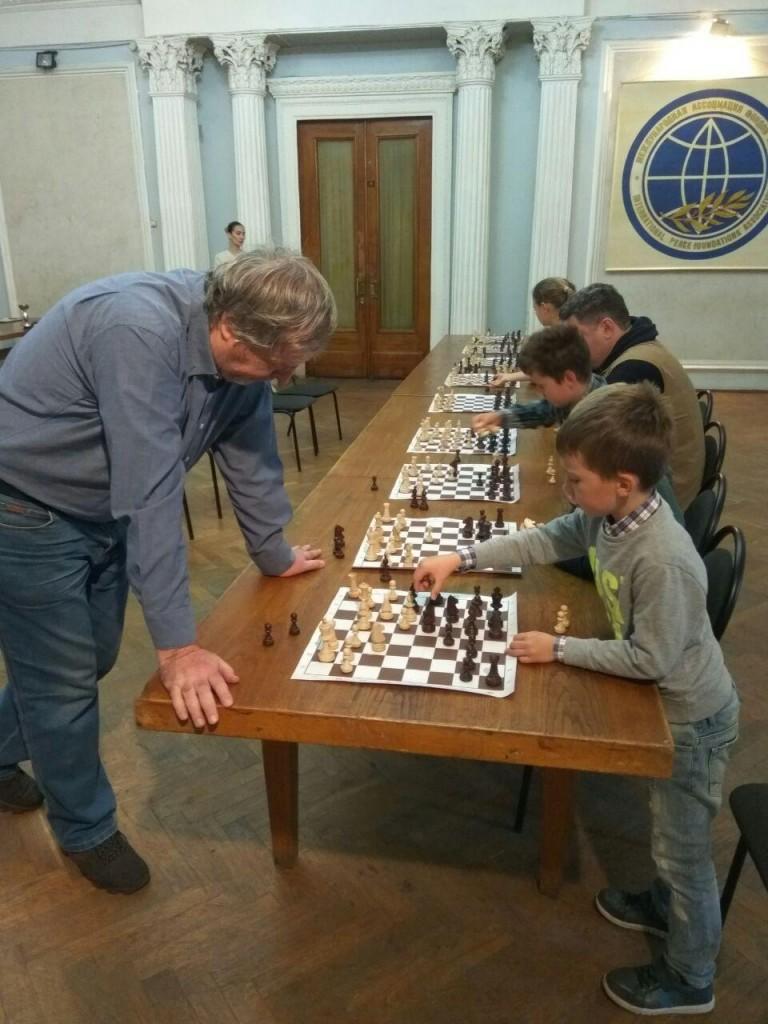 Сеанс с гроссмейстером