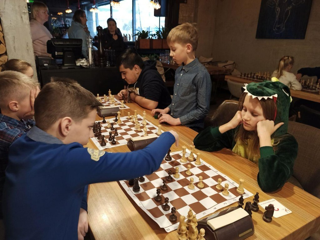 Турнир по шахматам 64 клетки