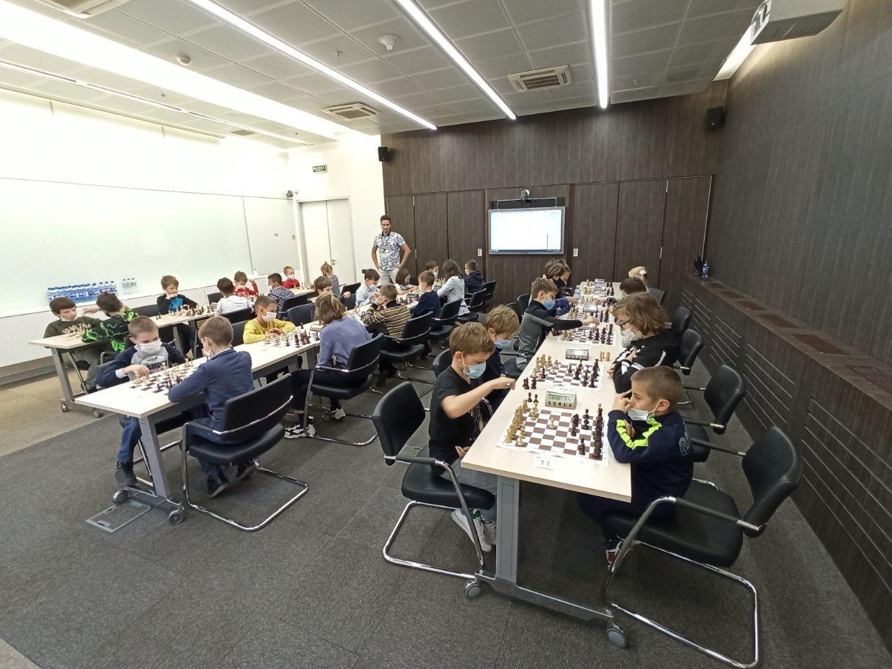 Шахматный турнир 13 декабря